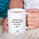 Great Mums Get Promoted To Grandma / Granny / Nanny Mug