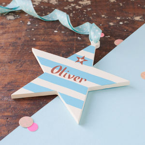 Baby Boy's Door Sign Gift - for children