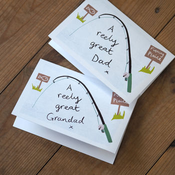 'A Reely Great' Father's Day Or Birthday Card