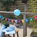 Happy Birthday Rainbow Bunting
