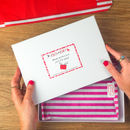 Rock On Ruby Gift Wrap Packaging