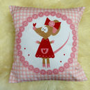 Children's Miss Mouse Cushion