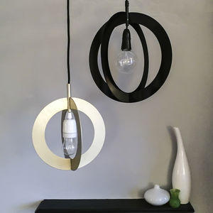 Round Metal Link Lampshade - lighting