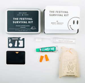 The Festival Survival Kit - new in garden