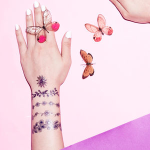 Daisy Bloom Temporary Tattoo - temporary tattoos