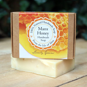 Handmade Palm Oil Free Honey Soap