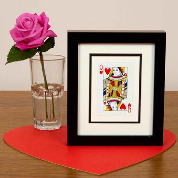 Queen Of Hearts Frame