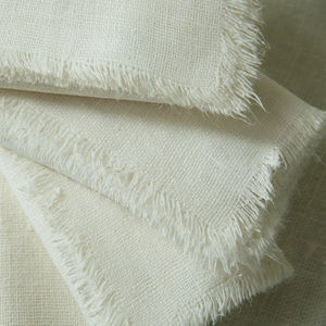 Napkin Linen Rutic Natural And Off White - bed, bath & table linen