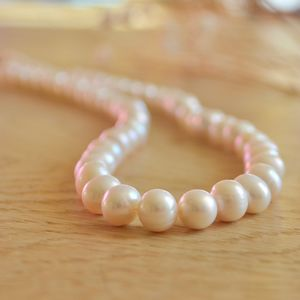 Graduated Pearl Necklace - necklaces & pendants