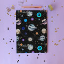 A4 Marble Galaxy Notebook