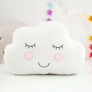 Nursery Bedroom Babies Cloud Children's Cushion - children's room