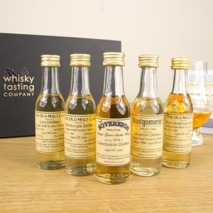 Old And Rare Scotch Whisky Set - drinks connoisseur