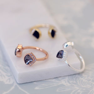 Art Deco Cocktail Ring - rings