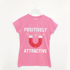 Positively Attractive Valentine's Day Womens T Shirt - tops & t-shirts