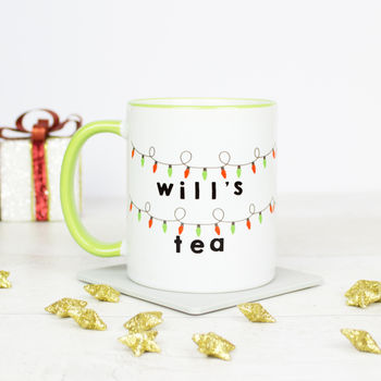 Personalised Stranger Things Inspired Mug