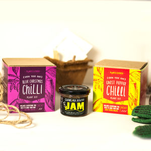Chilli Plant Kits And Chilli Jam Selection