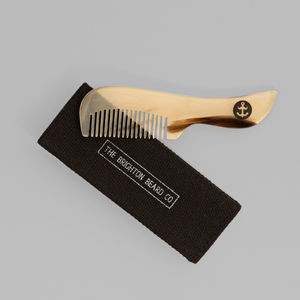 Ox Horn Moustache Comb - shaving