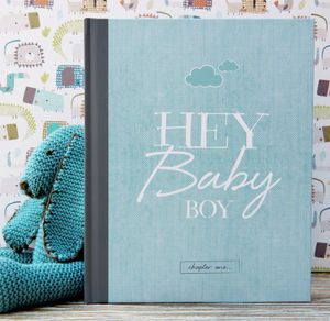 Baby Journal And Record Book For Boys - keepsake albums