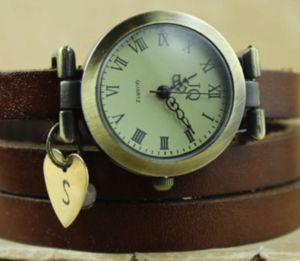 Personalised Leather Wrap Watch