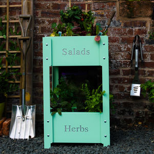 Two Tier Vertical Growing Planter - pots & planters