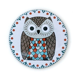 Owlberta Pocket Mirror