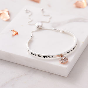 Born To Sparkle Crystal Bracelet