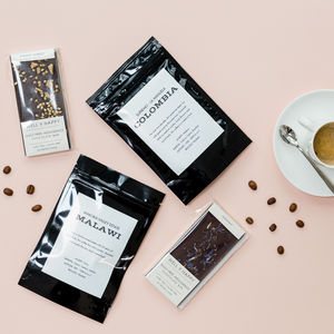 Three Month Coffee And Chocolate Subscription Gift - personalised