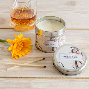Angels' Share Whisky Scented Candle