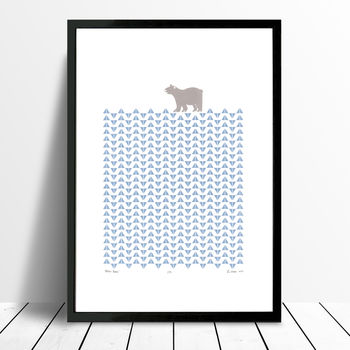 'Polar Bear' Limited Edition Print Framing Available