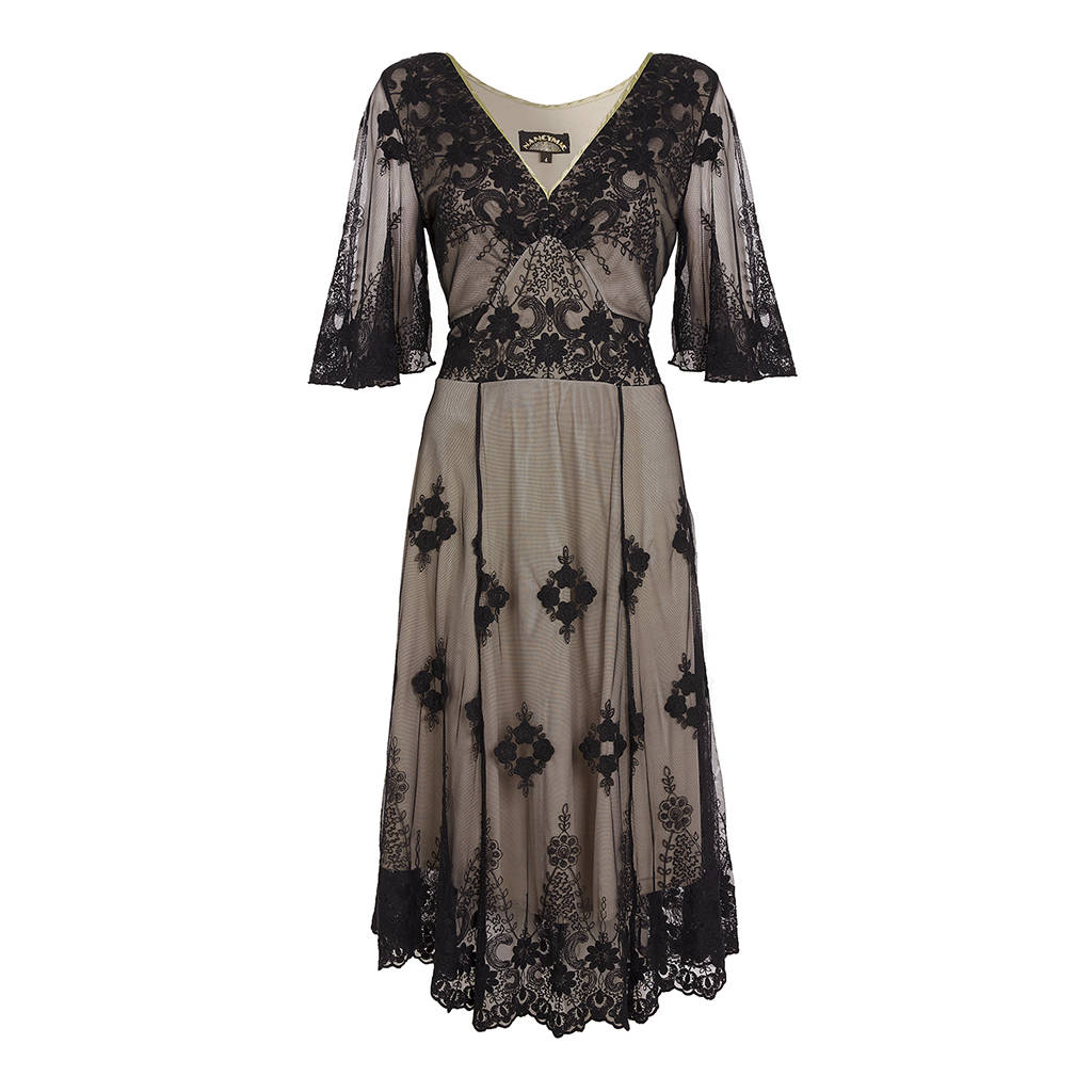 Vintage Look Lace Dress