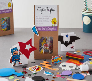 Superhero Craft Party Bag - party bags and ideas