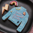 Personalised Denim Jacket Biscuit