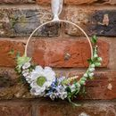 Floral Hanging Wreath