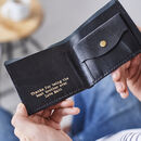 Personalised Name Leather Wallet