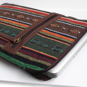Peru Vegan Laptop Case - new in fashion