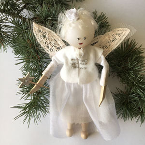 Christmas Fairy Tree Topper - tree toppers