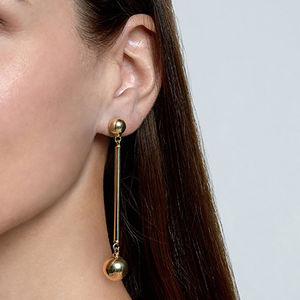 18ct Gold Vermeil Ori Earrings