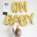 'Oh Baby' Baby Shower Balloon Decoration