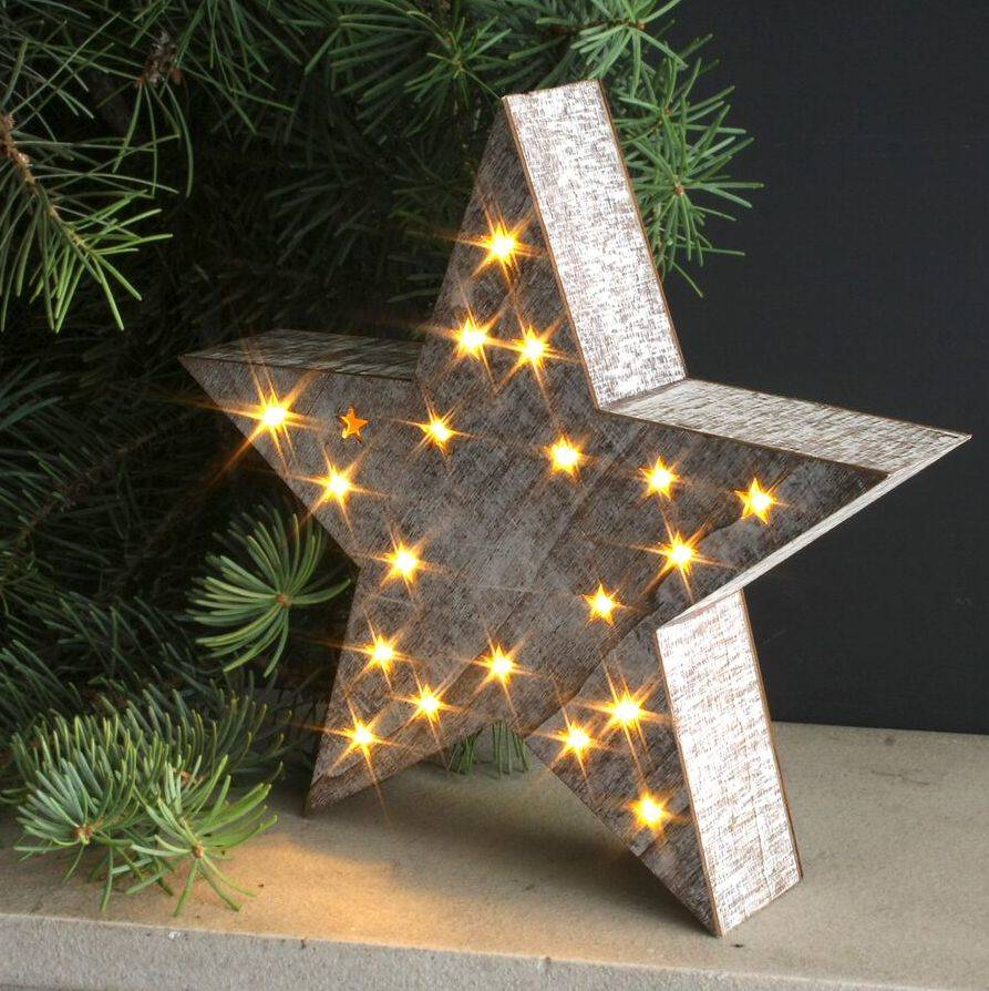 Led Decor Lights: Led Star Decoration By Ella James