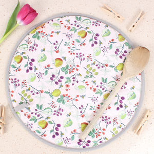 British Summer Fruits Hob Cover - kitchen