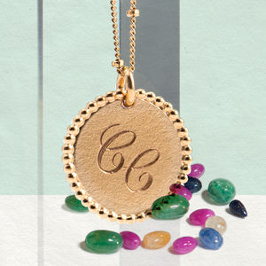 Personalised 9ct Gold Pearled Necklace - necklaces & pendants