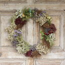 The Dewsall Dried Flower Wreath