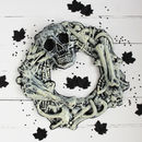 Halloween Bone Wreath