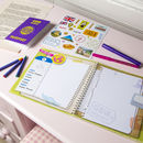 Travel Journal And Passport Activity Set