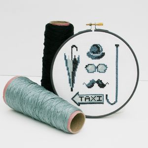 'City Gent' Cross Stitch Kit
