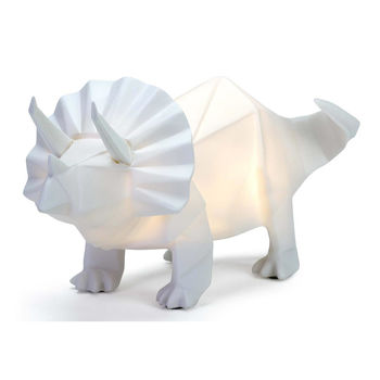 White Triceratops
