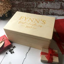 Personalised First Christmas Eve Box