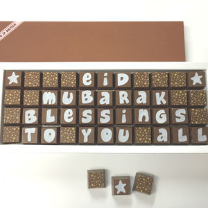 Personalised Chocolates For Celebrations - personalised