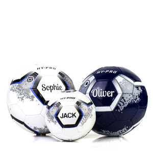 Personalised Football Ball Style V4