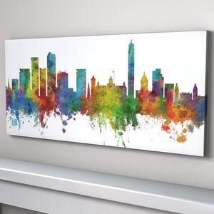 Birmingham England City Skyline - canvas prints & art